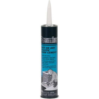 Premier 350 10.1 Oz. Wet or Dry Plastic Roof Cement