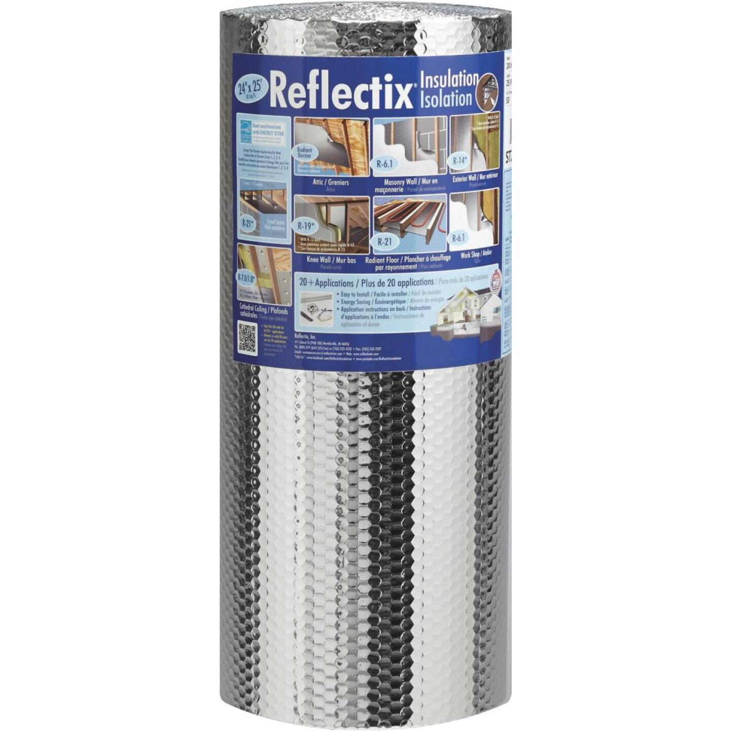 Reflectix 24 In. x 25 Ft. Staple Tab Reflective Insulation Image 1