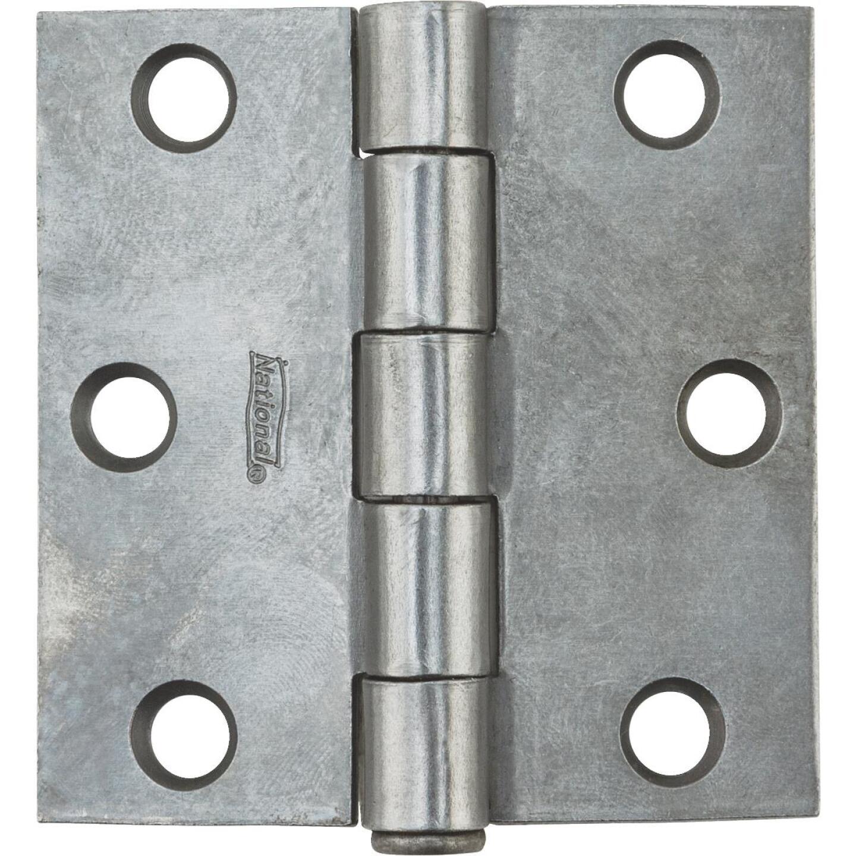 National 2-1/2 In. Square Plain Steel Broad Door Hinge Image 2