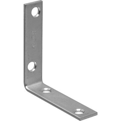 National Catalog 115 2-1/2 In. x 5/8 In. Zinc Corner Brace