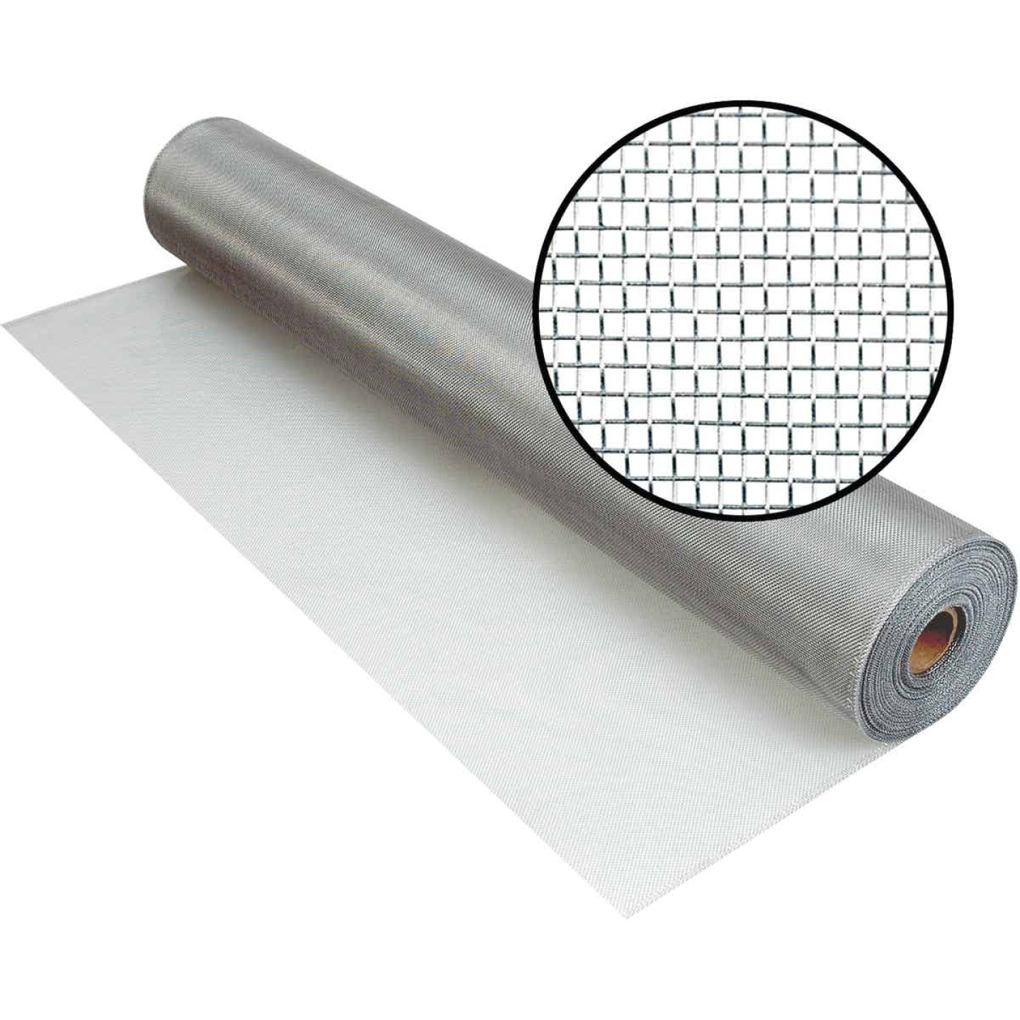 Phifer 48 In. x 100 Ft. Brite Aluminum Screen Image 1