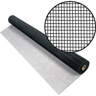 Phifer 60 In. x 100 Ft. Charcoal Aluminum Screen