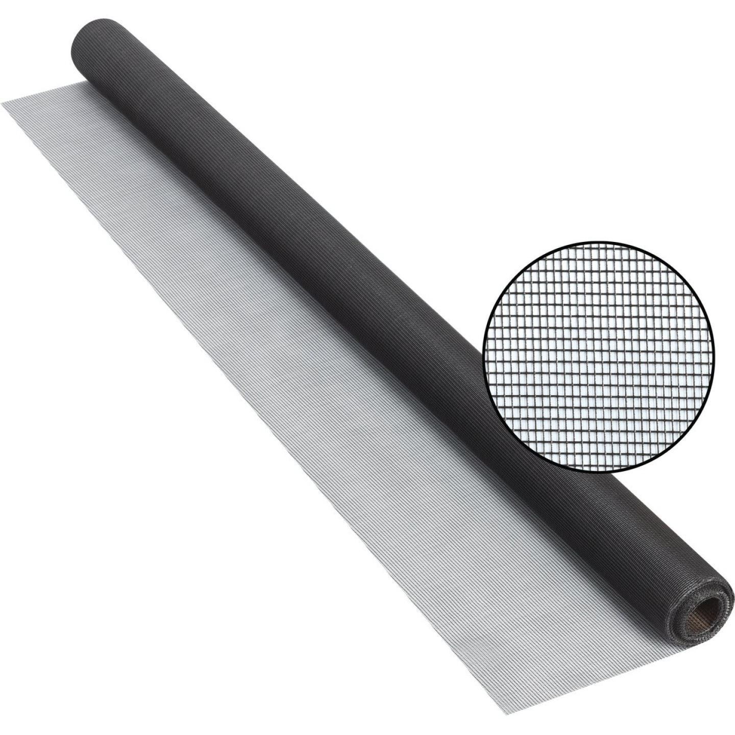 Phifer 30 In. x 25 Ft. Charcoal Fiberglass Screen Cloth Image 1