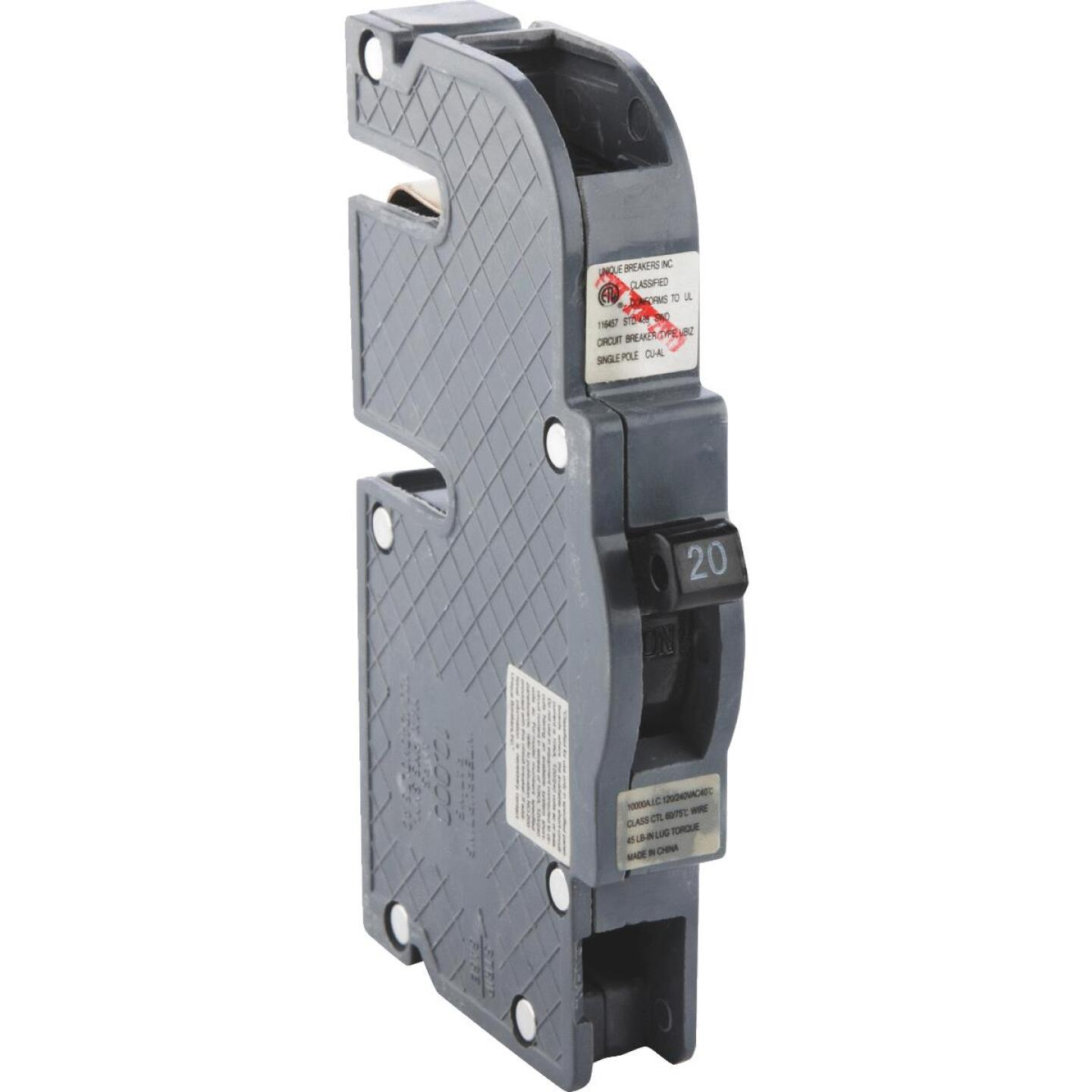 Connecticut Electric 20A Single-Pole Standard Trip Packaged Replacement Circuit Breaker For Zinsco Image 1