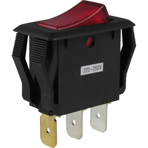 Gardner Bender Illuminated 15A 250V Rocker Switch