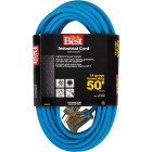 Do it Best 50 Ft. 14/3 Industrial Outdoor Extension Cord Image 1