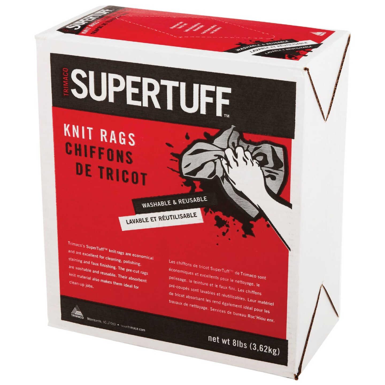 Trimaco SuperTuff 8 Lb. Knit Painter's Rags Image 2