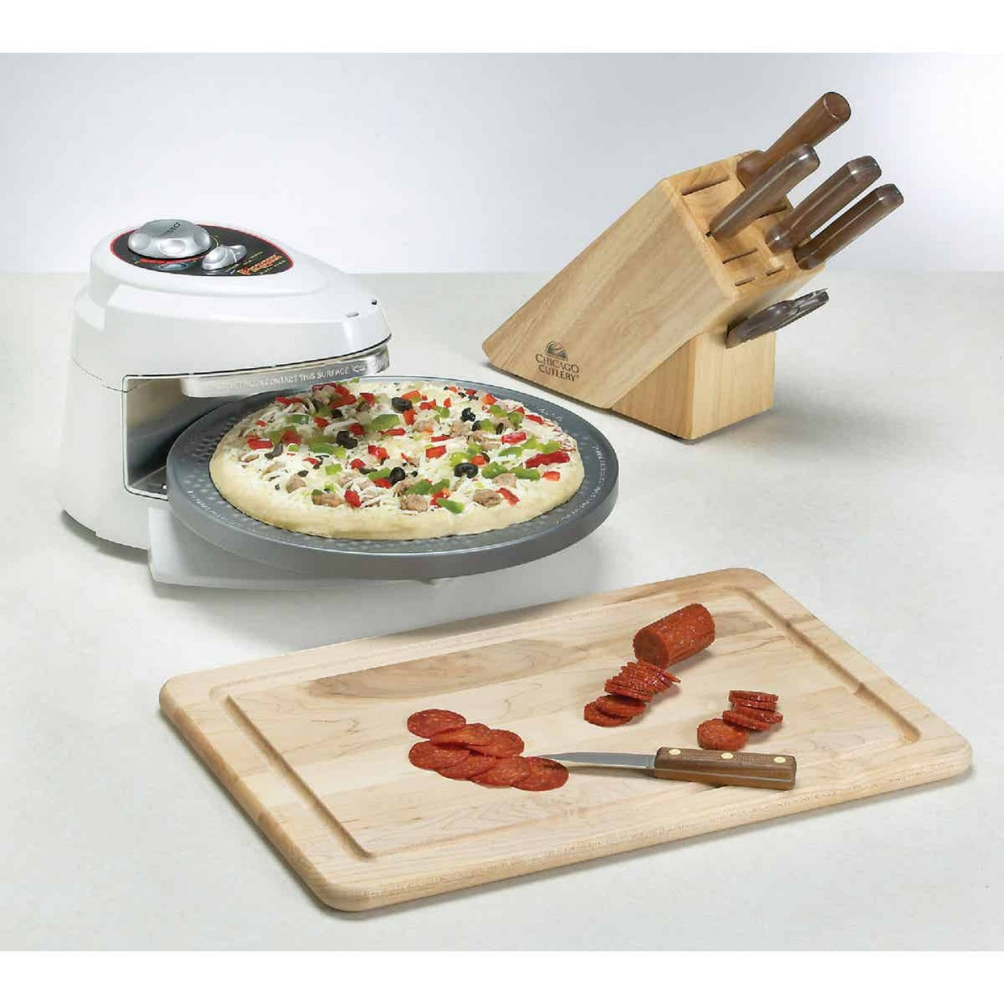 Presto Pizzazz Electric Pizza Maker Image 3